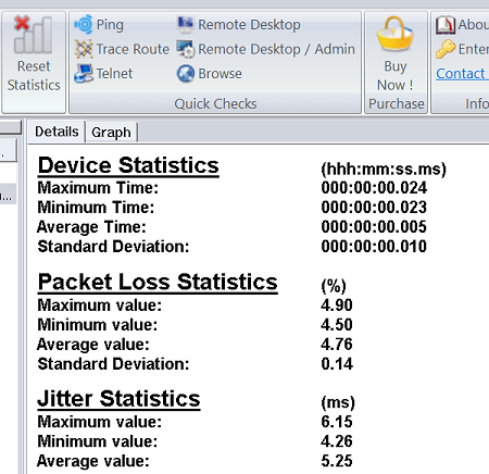 How to monitor packet loss and jitter   IsItUp